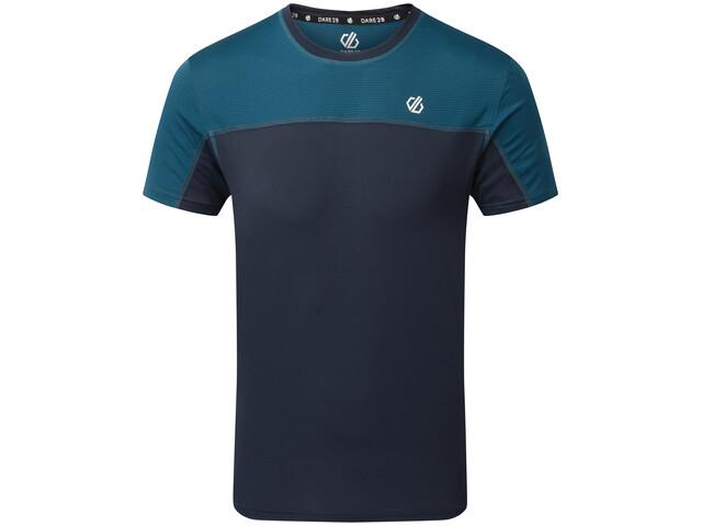 Dare 2b Notable Camiseta Hombre, outerspace blue/majolica blue